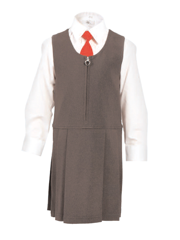 260 Girls Pinafore